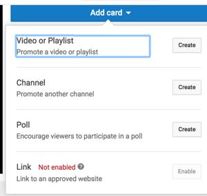 Usa le schede YouTube per estendere il tempo di visione del tuo canale.
