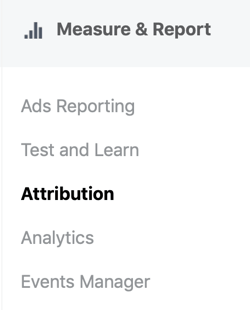How to track attribution on Facebook and Google, step 1.