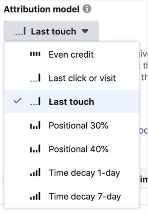 How to track attribution on Facebook and Google, step 7.