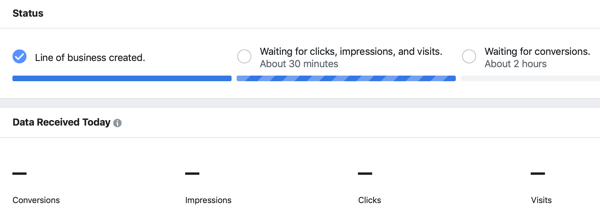 How to track attribution on Facebook and Google, step 3.