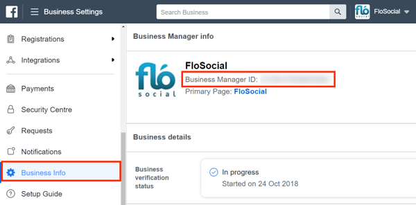 Use Facebook Business Manager, Step 9.