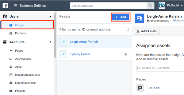Use Facebook Business Manager, Step 2.