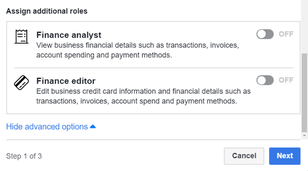 Use Facebook Business Manager, Step 4.