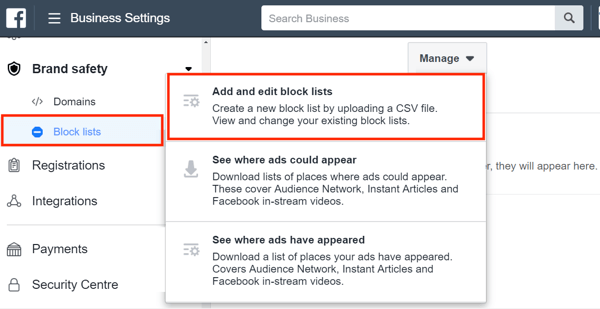 Use Facebook Business Manager, Step 14.