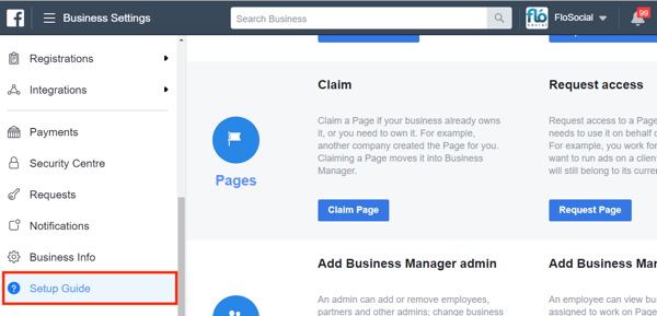 Use Facebook Business Manager, Step 25.