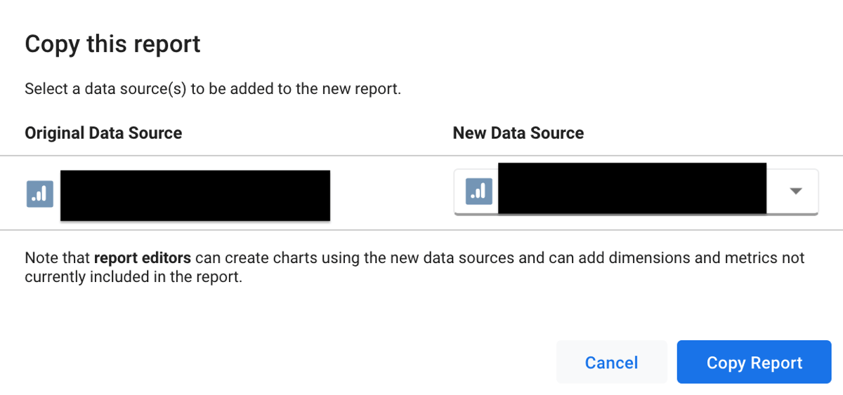 Use Google Data Studio, step 27.