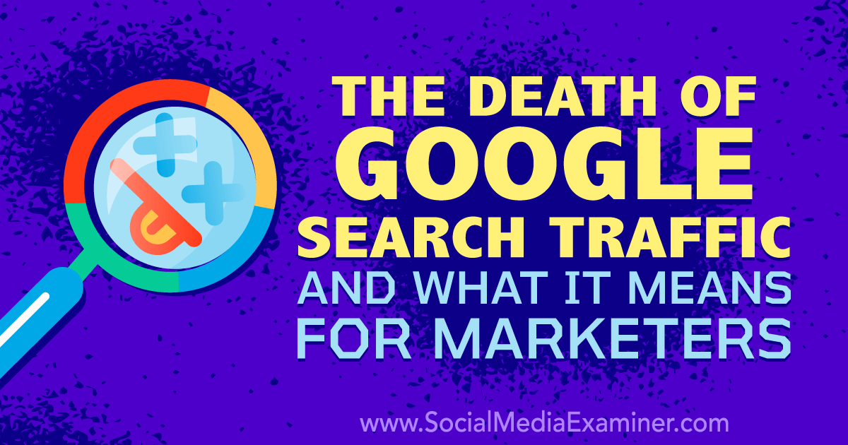 The Death of Google Search Traffic and What It Means for Marketers