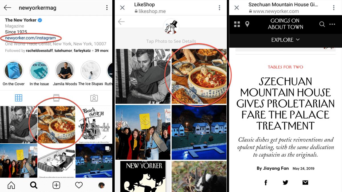 8 Ways to Share Links on Instagram : Social Media Examiner
