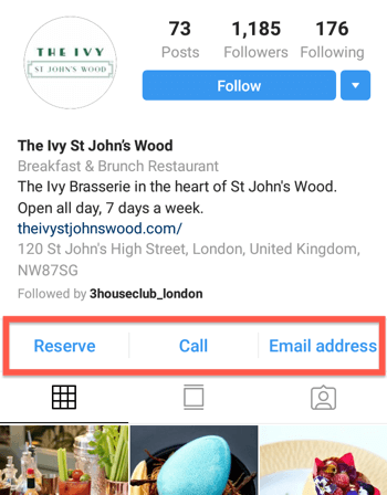 How to add or share a link to Instagram, example 20.