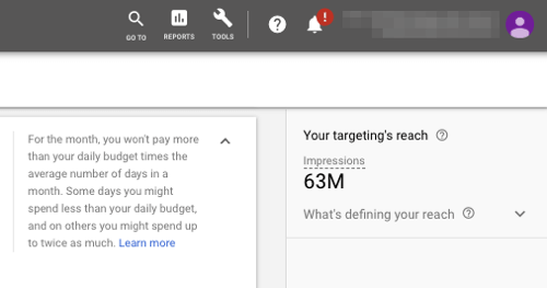 Set up YouTube TrueView Video Discovery Ads, step 5.