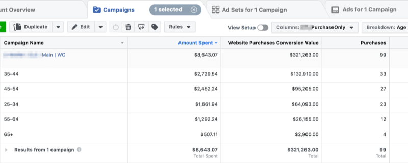 Scale your Facebook ad campaigns; step 5.