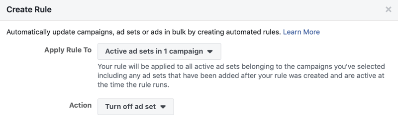 Scale your Facebook ad campaigns; step 13.