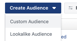 Facebook ad funnels framework audience set up.