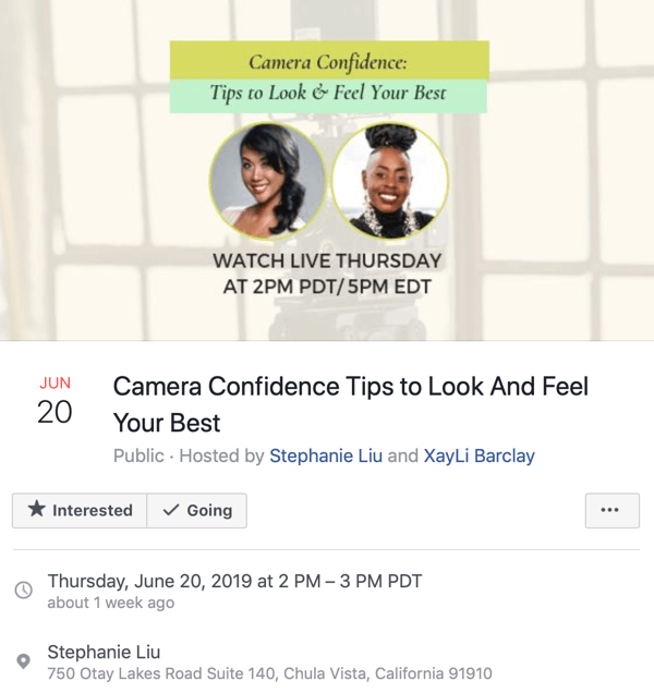 How to Use Facebook Live in Your Marketing, step 4.