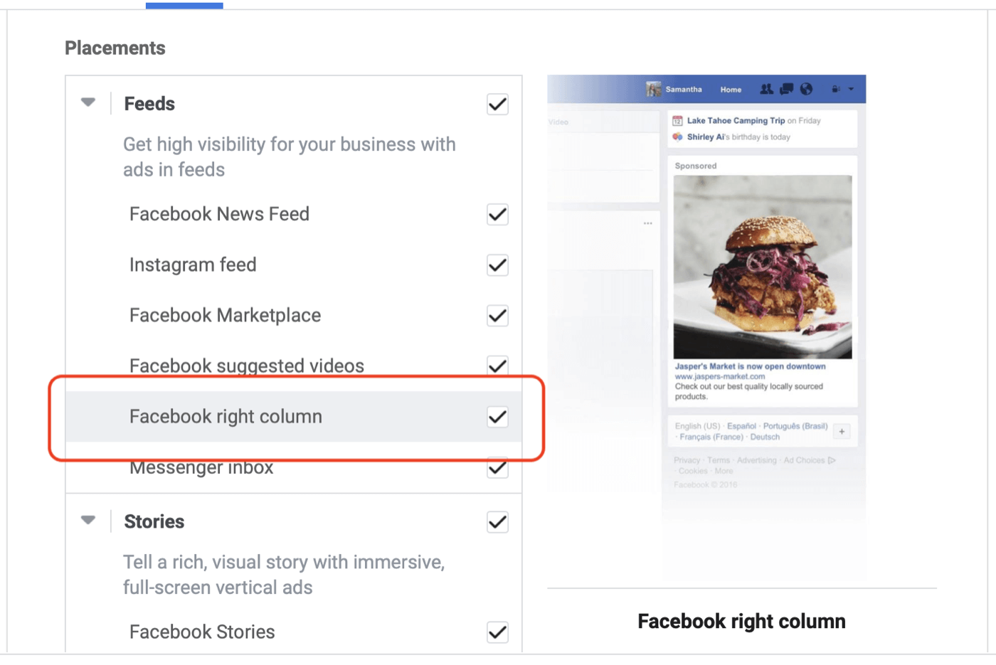 Facebook Ad Placements for Marketers: How to Make the Right