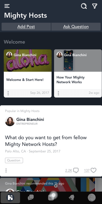 Building a Community in a Changing Social Media World featuring insights from Gina Bianchini on the Social Media Marketing Podcast.