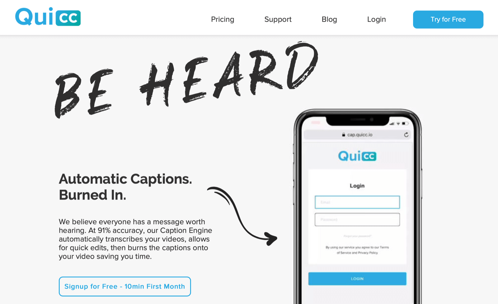 Social Media Marketing Podcast Discovery of the Week, quicc.io.