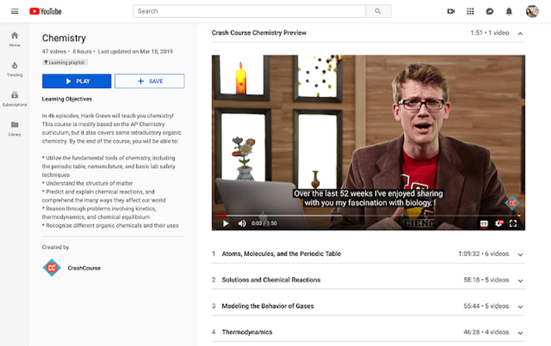 YouTube is introducing Learning Playlists to provide a dedicated learning environment for people who come to YouTube to learn.