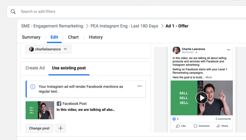 facebook how to set up engagement remarketing campaign step 10 800 - How to Retarget Ads to Engaged Instagram and Facebook Fans