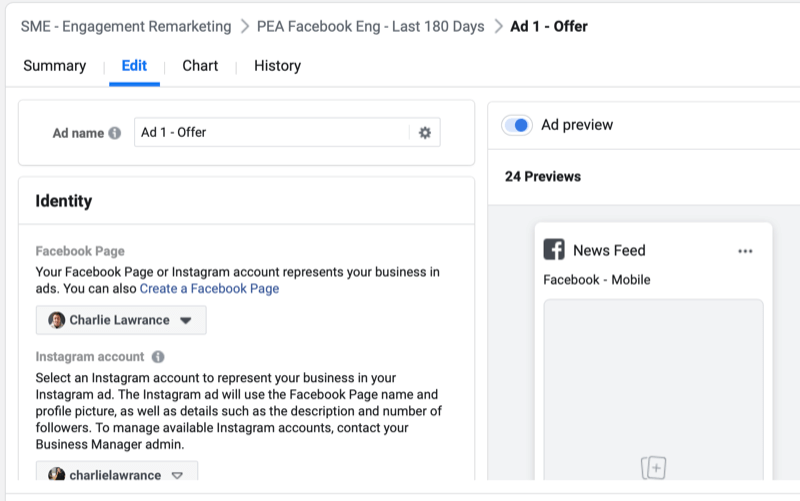 facebook how to set up engagement remarketing campaign step 6 800 - How to Retarget Ads to Engaged Instagram and Facebook Fans