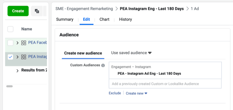 facebook how to set up engagement remarketing campaign step 8 800 - How to Retarget Ads to Engaged Instagram and Facebook Fans