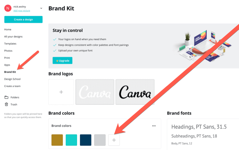 steps for using Canva to create branded graphics for Instagram story on live event
