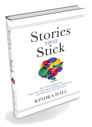 Kindra Hall's book Stories That Stick