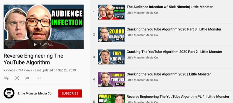 YouTube playlist from Little Monster Media channel