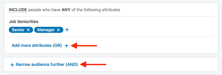 utilizzare gli operatori di ricerca booleani per il targeting degli annunci LinkedIn
