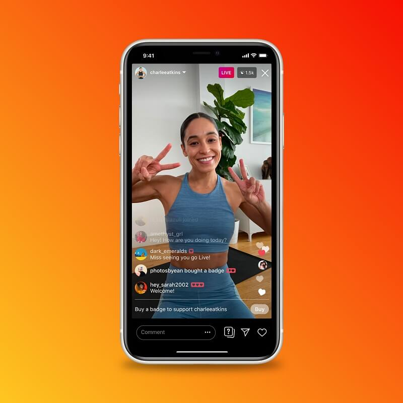 Instagram is doing more to support creators with the introduction of badges in live video, IGTV ads, and updates to shopping.
