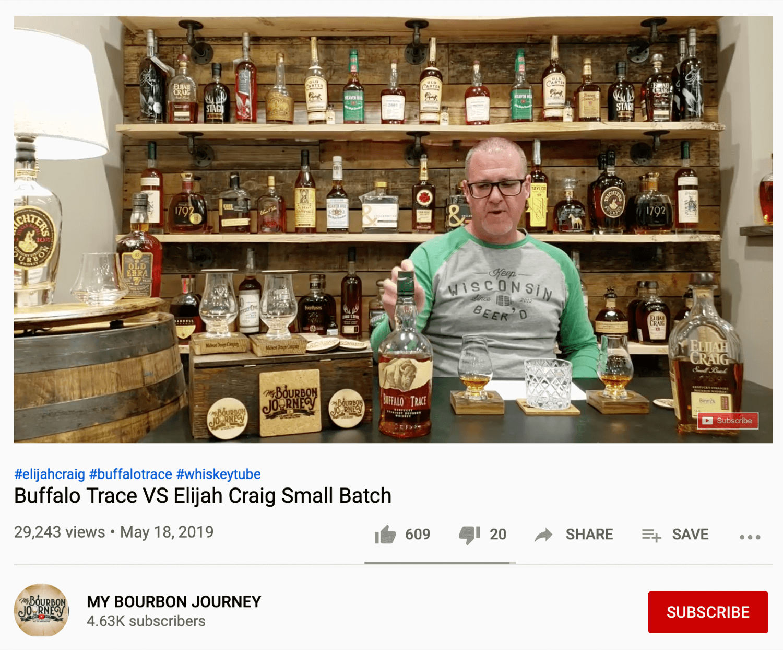 My Bourbon Journey YouTube video