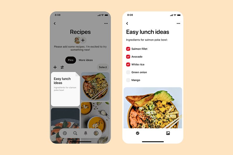 Pinterest adds new planning and organizing tools for boards.