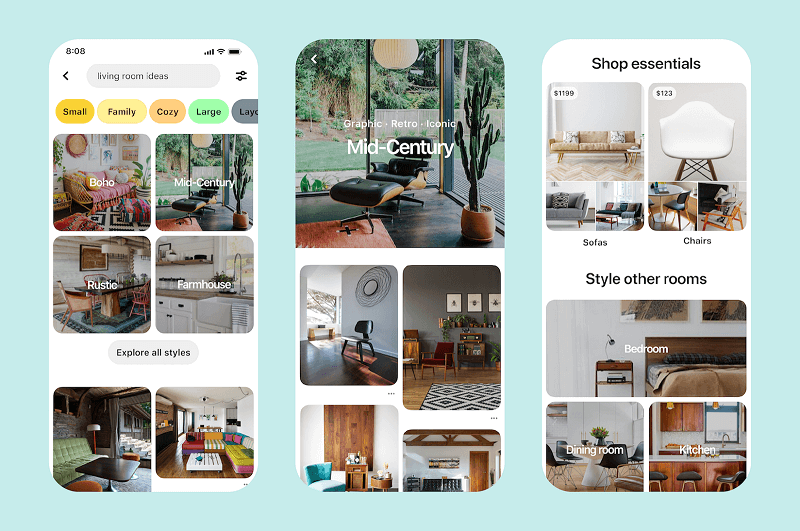 Pinterest is introducing new ways to shop from pins, on pin boards, and in search results.