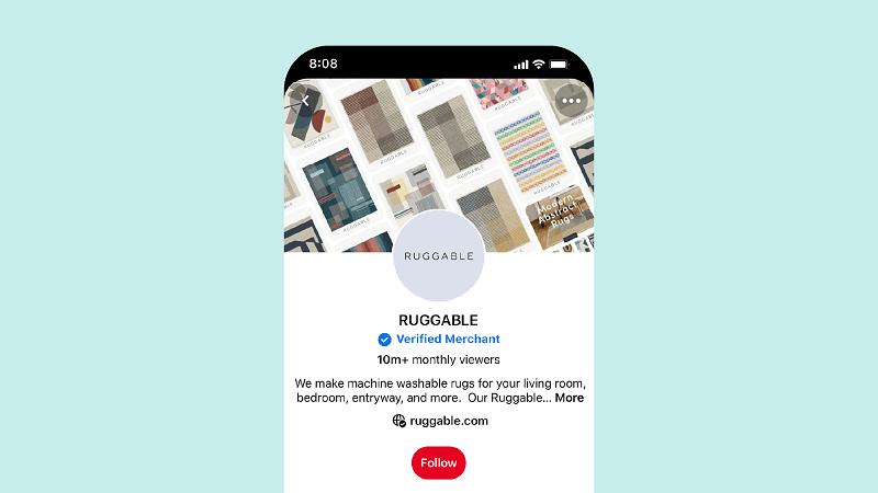 Pinterest introduced a new Verified Merchant Program.
