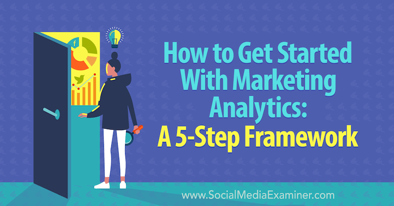 How to Get Started With Marketing Analytics: A 5-Step Framework by Chris Mercer on Social Media Examiner.