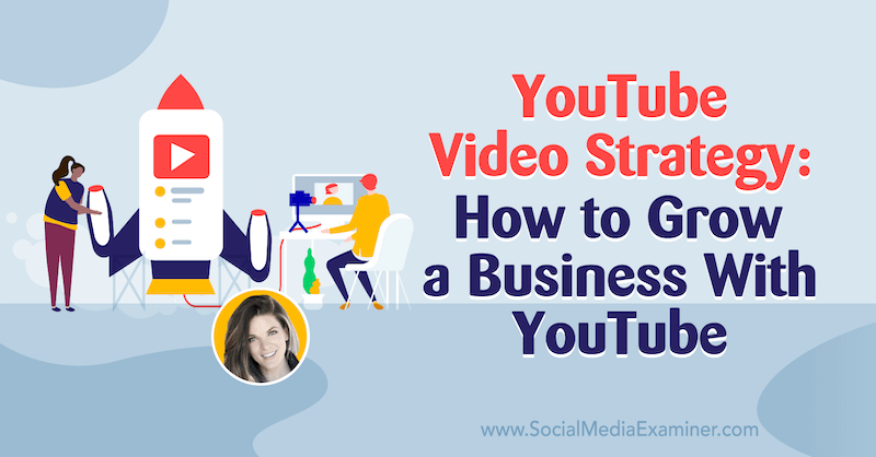 YouTube Video Strategy: How to Grow a Business With YouTube featuring insights from Sunny Lenarduzzi on the Social Media Marketing Podcast.
