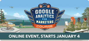 Google Analytics for Marketers Course