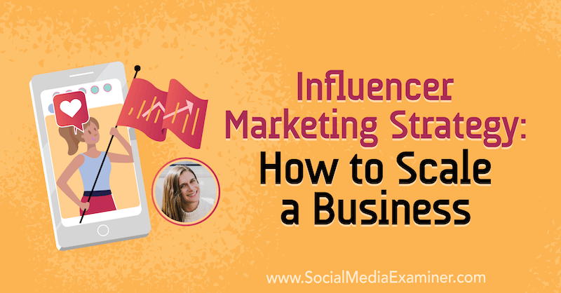 Influencer Marketing Strategy: How to Scale a Business featuring insights from Adi Arezzini on the Social Media Marketing Podcast.