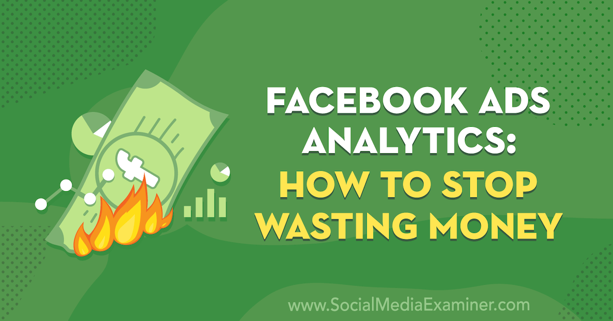 Facebook Ads Analytics: How to Stop Wasting Money