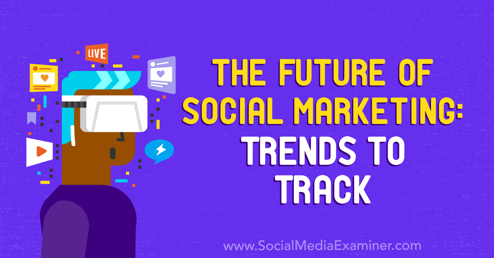 The Future of Social Marketing: Trends to Track featuring insights from Mark Schaefer on the Social Media Marketing Podcast.