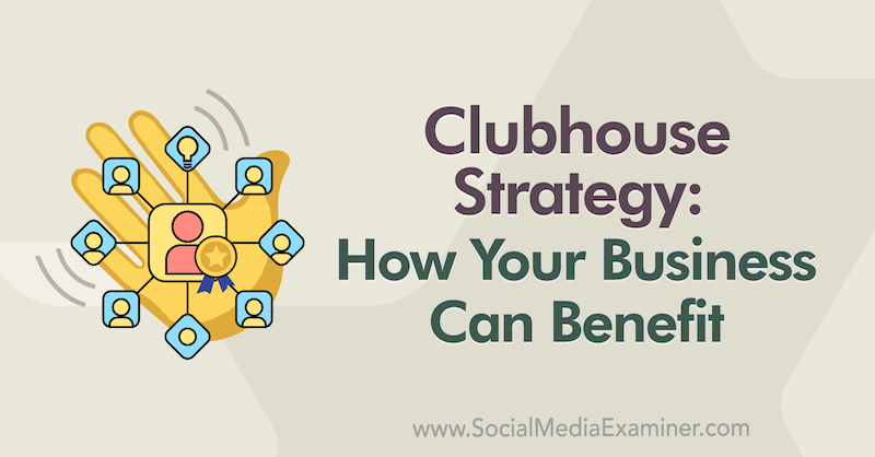 Clubhouse Strategy: How Your Business Can Benefit featuring insights from TerDawn DeBoe on the Social Media Marketing Podcast.