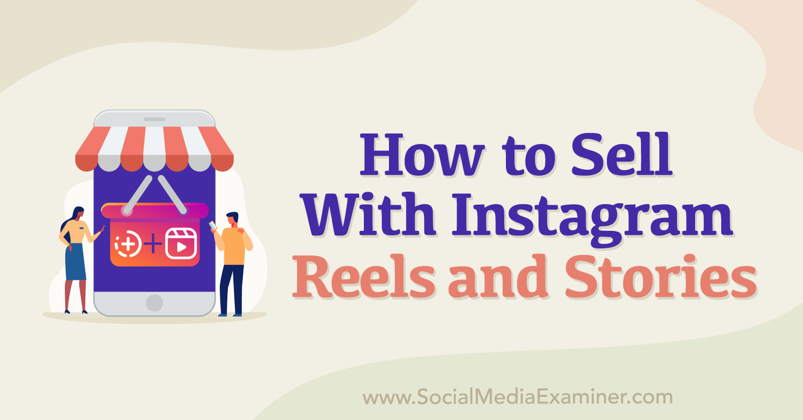 How to Sell With Instagram Reels and Stories featuring insights from Chalene Johnson on the Social Media Marketing Podcast.