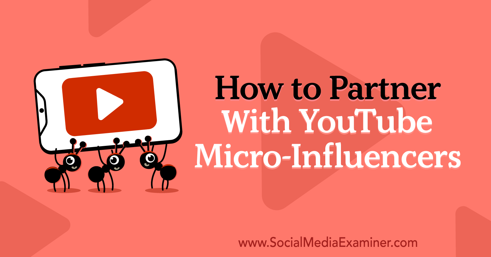 How to Partner With YouTube Micro-Influencers by Anna Sonnenberg on Social Media Examiner.