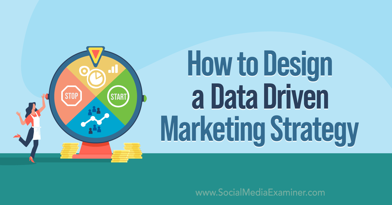How to Design a Data-Driven Marketing Strategy featuring insights from Brie Anderson on the Social Media Marketing Podcast.
